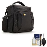 Case Logic TBC-409 Digital SLR Camera Shoulder Case (Black) with Cleaning Kit
