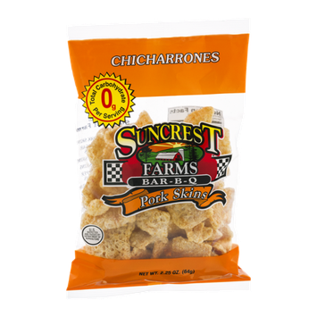 Suncrest Farms Pork Skins Bar-B-Q