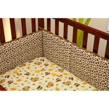 Little Bedding by NoJo Jungle Dreams 4-Piece Crib Bumper