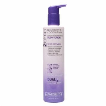Giovanni 2chic Ultra-Replenishing Body Lotion, Blackberry & Coconut Milk, 8.5 fl oz