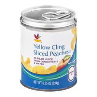 Ahold Yellow Cling Peaches Sliced