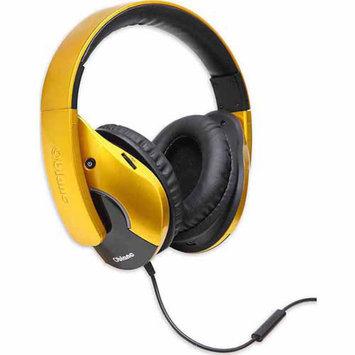 Syba Oblanc OG-AUD63056 Dual Driver Speaker Headphones, Golden