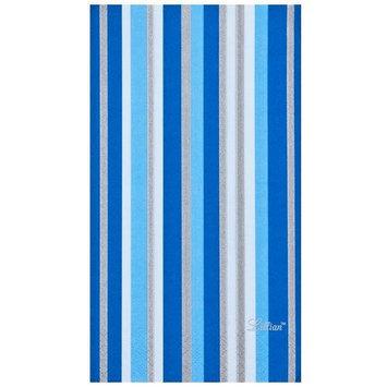 King Zak Ind Lillian Tablesettings 22355 Blue Stripe Bistro Napkin - 360 Per Case
