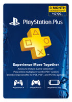 Sony Computer Entertainment PlayStation Plus 3 Month Membership