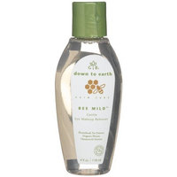 Garden Botanika Bee Mild Gentle Eye Makeup Remover, 4-Ounce Bottle