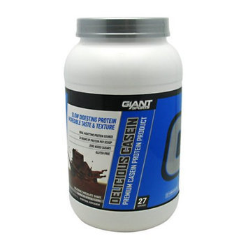 Giant Sports Products Delicious Casein Delicious Chocolate Shake - 2 lbs