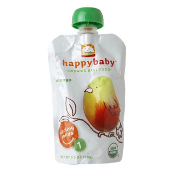 Happy Baby Organic Baby Food:  Stage 1 / Starting Solids