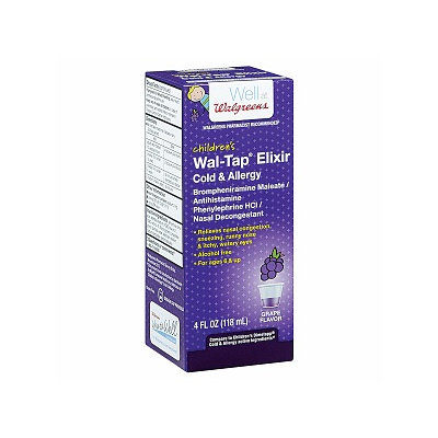 Walgreens Wal-Tap Children's Cold & Allergy Relief Elixir