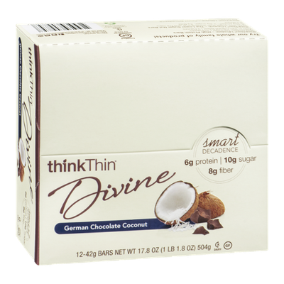 thinkThin Divine Bars German Chocolate Coconut