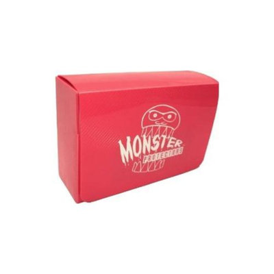 Monster Protectors Card Supplies Double Deck Box Pink