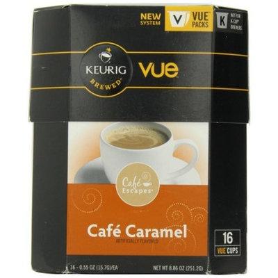 Keurig Cafe Escapes Cafe Caramel Vue Pack 16 count