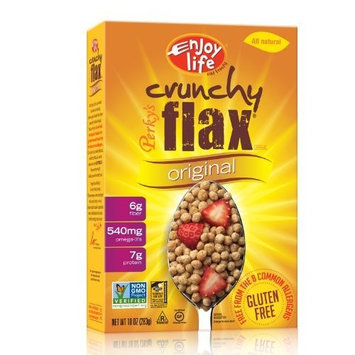 Enjoy Life, Perky's Crunchy Flax Cereal, 10-Ounce Boxes (Pack of 12)