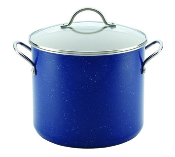 Meyer Corporation Us-farberware Division 12-Quart Covered Stockpot, Blue