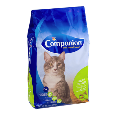 Companion Indoor Formula Adult Cat Food
