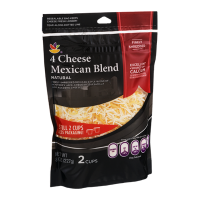 Ahold 4 Cheese Mexican Blend Finely Shredded