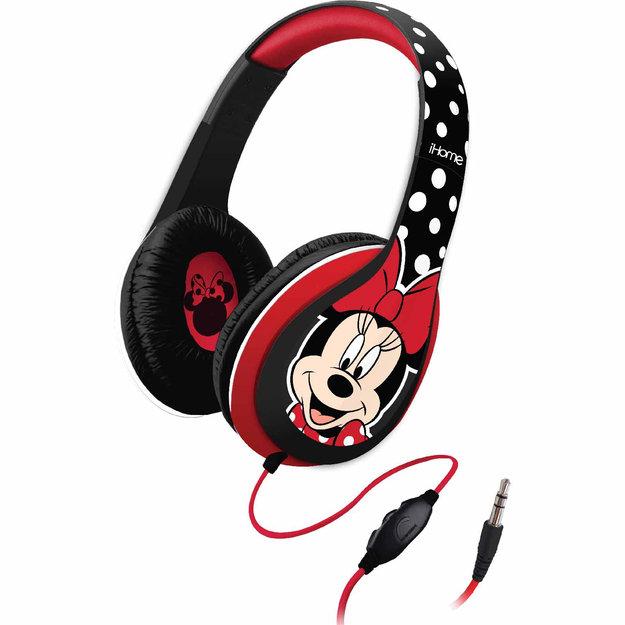 Kid Designs DM-M40 iHome/Disney Over-the-Ear Headphones - Minnie Mouse