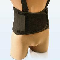 NYOrtho Universal Elastic Back Belt in Black