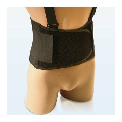 NYOrtho Universal Elastic Back Belt in Black