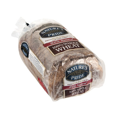 Nature's Pride Bakery Bread 100% Whole Wheat
