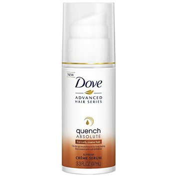 Dove Advanced Hair Series Supreme Crème Serum, Quench Absolute 3.3 ounce