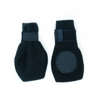 Fashion Pet Ethical Fashion Pet Lookin Good Arctic Fleece Boots for Dogs, Small, Black