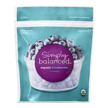 Simply Balanced Organic Frozen Blueberries 10 oz