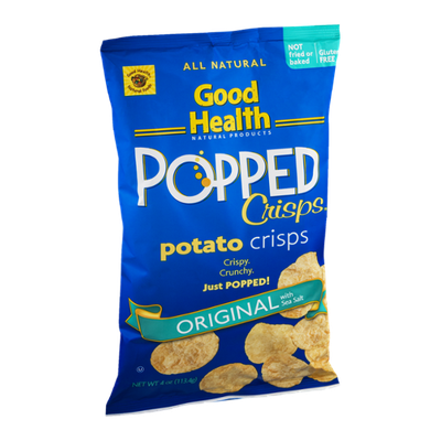Good Health Popped Potato Crisps Original with Sea Salt