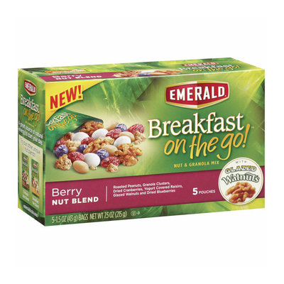 Emerald Breakfast on the Go! Berry Nut Blend Nut & Granola Mix