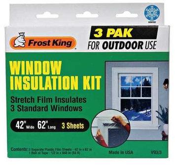 FROST KING V93/3 Window Kit, Outdoor,42 x 62 In, PK3