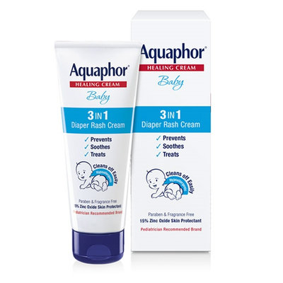 Aquaphor® Baby 3 in 1 Diaper Rash Cream