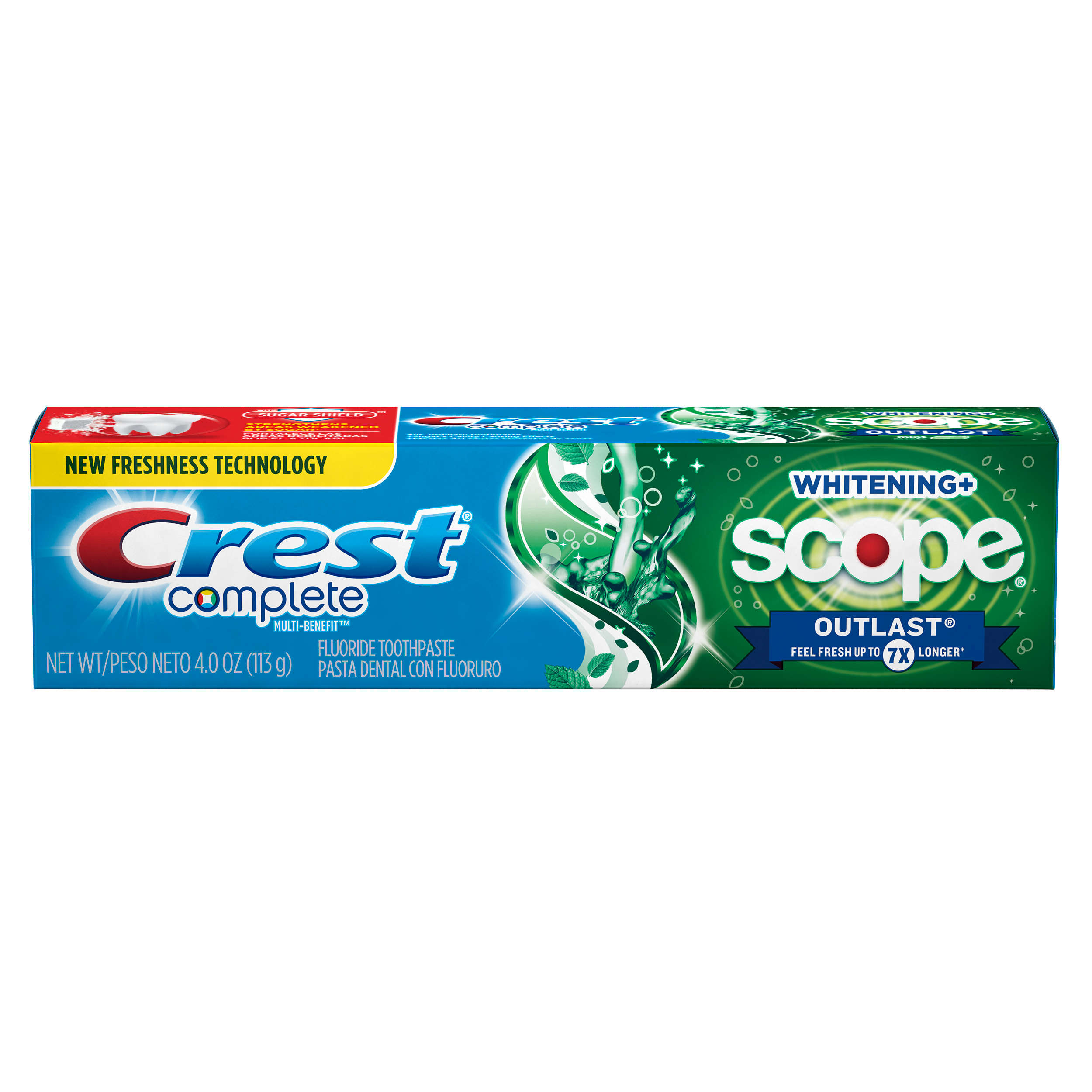 Crest Complete Whitening Plus Scope Outlast Toothpaste