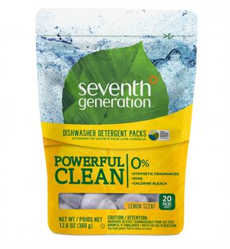 Seventh Generation Lemon Dishwasher Packs