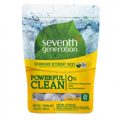 Seventh Generation Lemon Dishwasher Packs