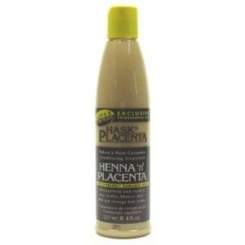 Hask Placenta Henna 'n' Placenta for Extremely Damaged Hair 237ml/8oz