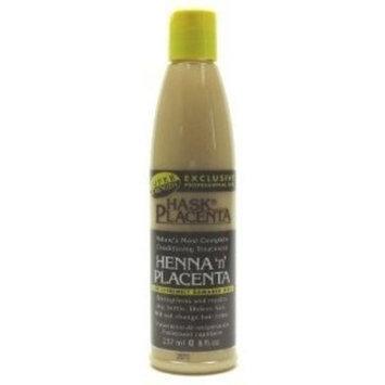 Hask Placenta Henna 'n' Placenta for Extremely Damaged Hair 237ml/8oz