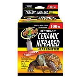 Zoo Med Laboratories Zml Heater Ceramic 30-40 gal. 100 watt.