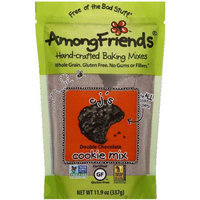 Among Friends CJ's Double Chocolate Chip Cookie Mix, 11.9 oz, (Pack of 6)