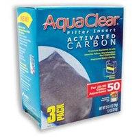 Hagen Aqua Clear Activated Carbon 3pk 50 Gallon