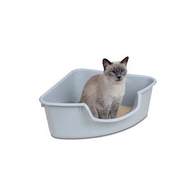 Smart Cat 3850 Corner Litter Box - Gray - Case of 5