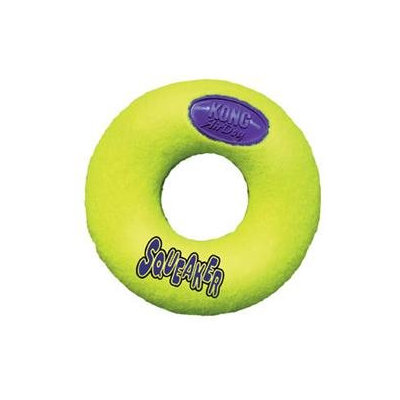 Kong Large Air Squeaker Donut Dog Toy
