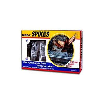 Bird X Bird Spikes - 10ft.L Strip, Model# SP-10-NR