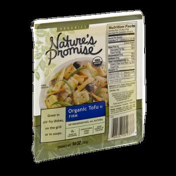 Nature's Promise Organics Organic Tofu Firm
