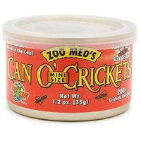 Zoo Med Labs Inc. Zoo Med Laboratories ZML Food Can o' Crickets Mini