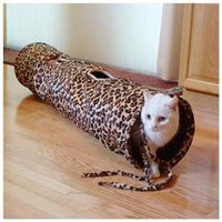 ABO Gear Fun Tunnel for Cats - Leopard