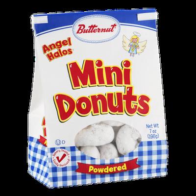 Butternut Angel Halos Mini Donuts Powdered