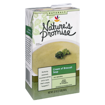 Nature's Promise Naturals Cream of Broccoli Soup