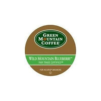 Green Mountain Fair Trade Wild Mountain Blueberry Flavored Coffee 2 Boxes of 24 K-Cups