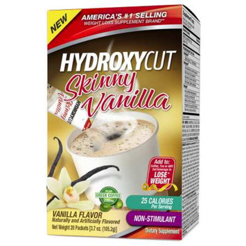 Hydroxycut Skinny Vanilla Plus Green Coffee Packets