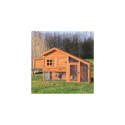 Trixie Pet Products Trixie Chicken Coop with View Finish: Glazed Pine