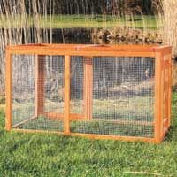 Trixie Chicken Coop with Optional Outdoor Run